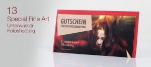 Fotogutschein Unterwasser Special Fine Art Fotoshooting Hannover Gutschein 13