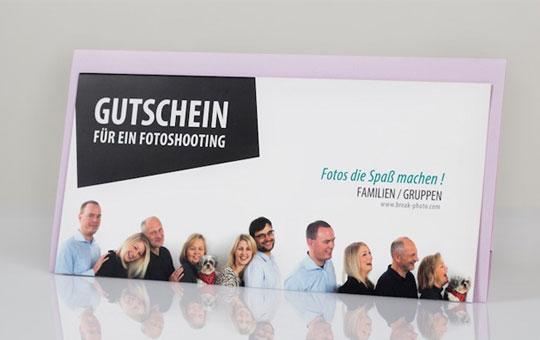 Gutscheine Familienfoto Breakphoto Hannover